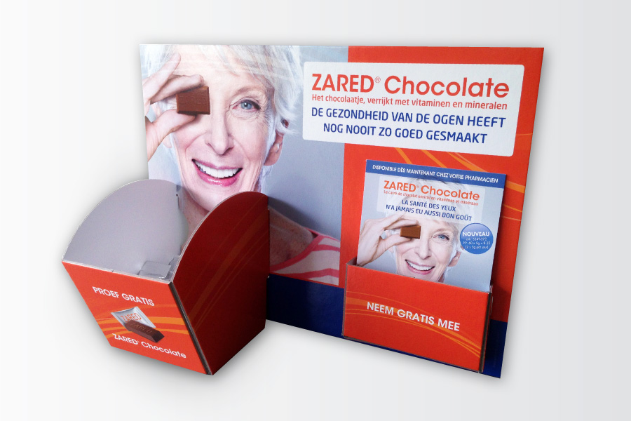 Zared display